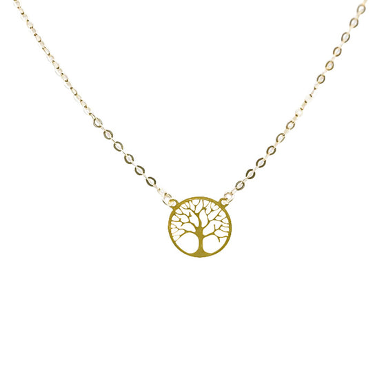 Yellow Gold Tree of Life-lirysjewelry