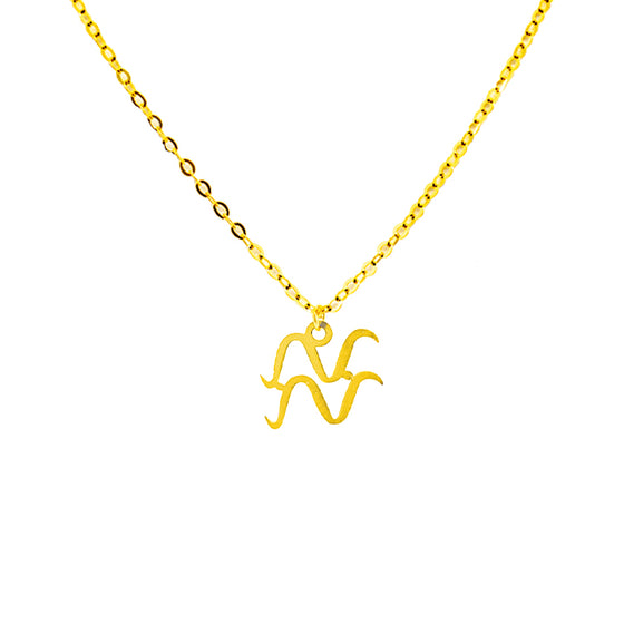 Yellow Gold Zodiac Signs-lirysjewelry