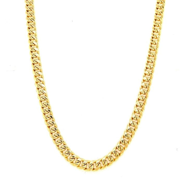 Hollow miami cuban link necklace-lirysjewelry