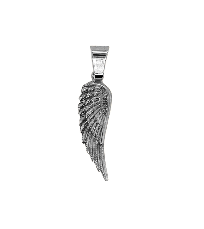 Sterling Silver Angel Wing Pendent-pendant charm-lirysjewelry
