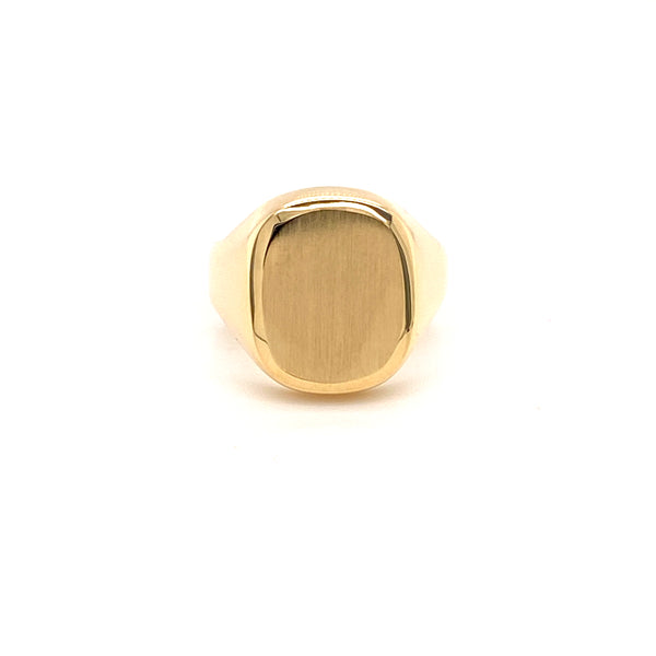 10kt gold mens signet fashion ring-ring-lirysjewelry