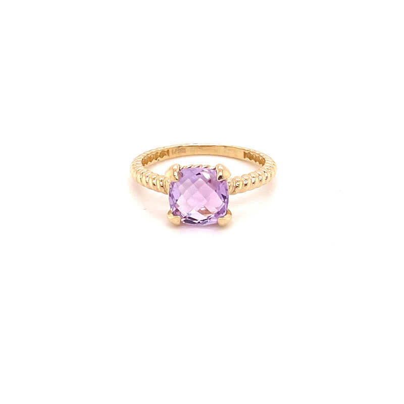 Purple cz stone ring-ring-lirysjewelry