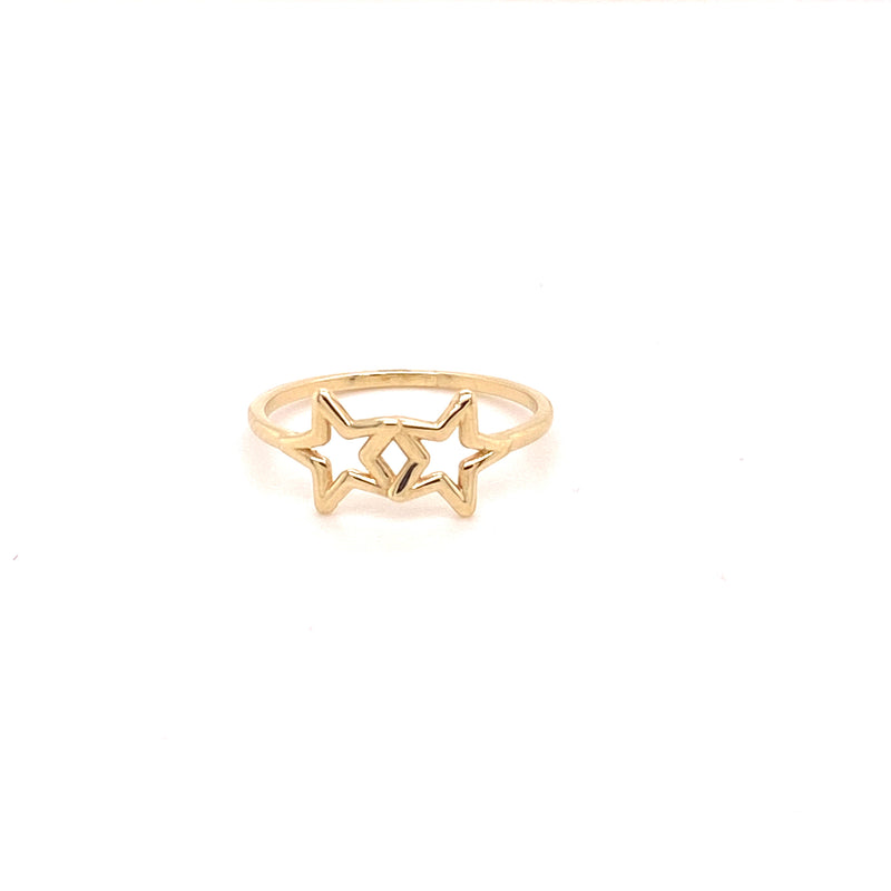Double Star Ring-ring-lirysjewelry