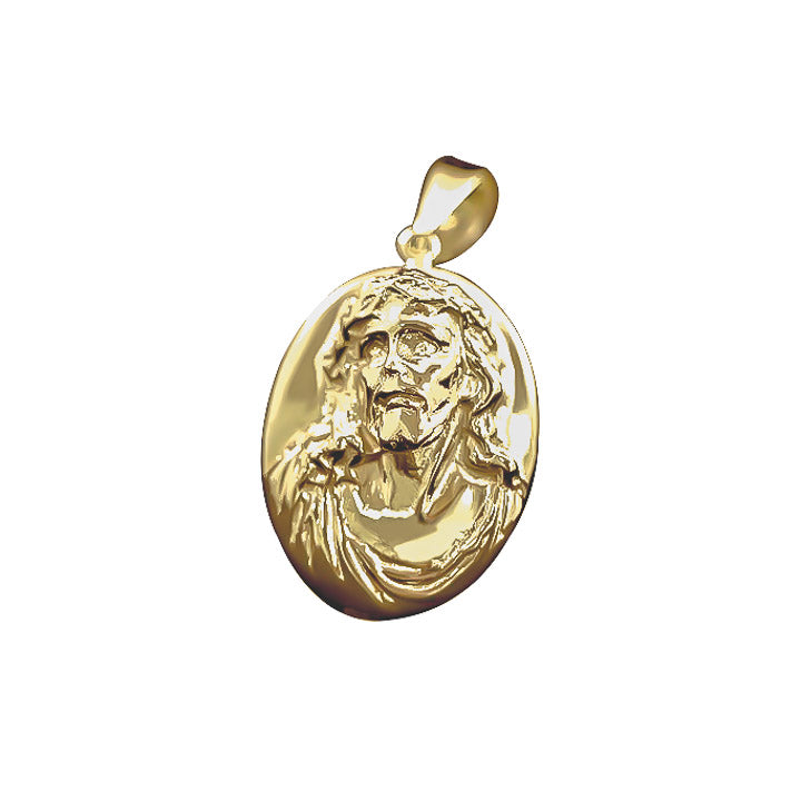 Jesus Face estimate of 25 grams-pendant charm-lirysjewelry