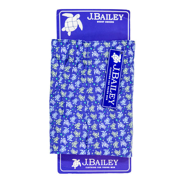 J. Bailey Turtle Print Boys Boxer