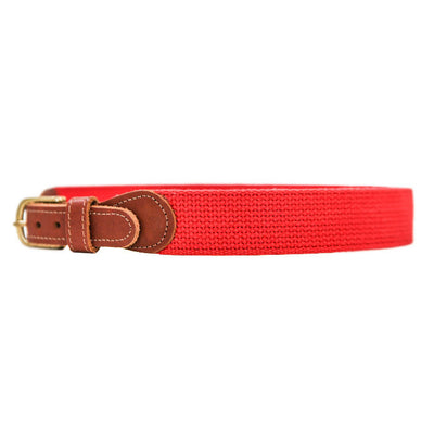 Buddy Belt-Canvas in Red