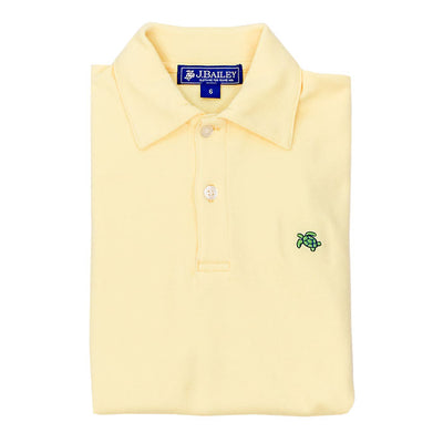 Henry Short Sleeve Polo-Yellow