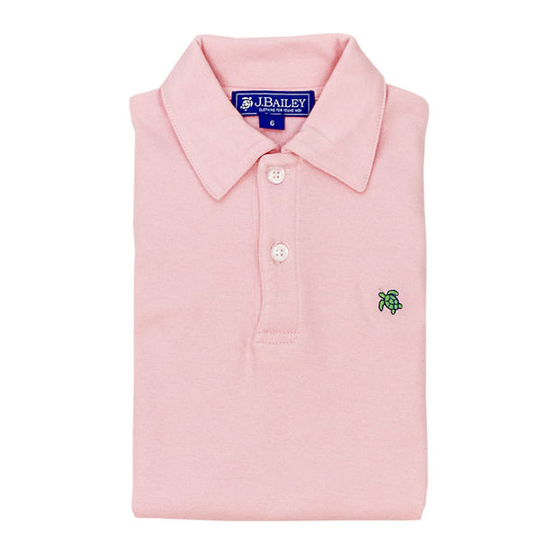 Henry Short Sleeve Polo-Pink