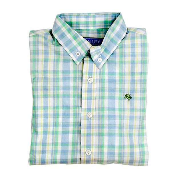 Roscoe Button Down Shirt-Montauk Plaid