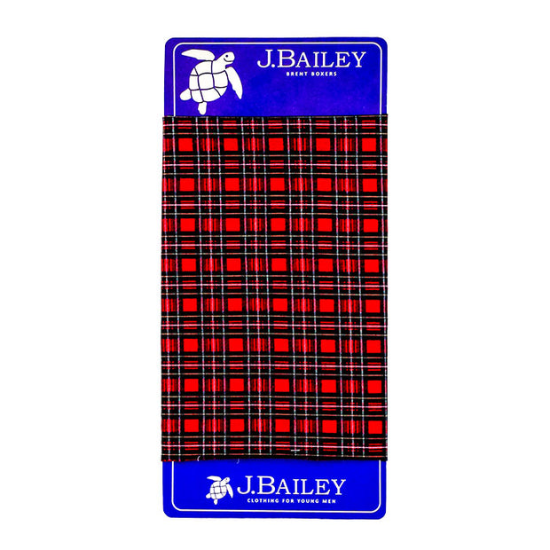 Brent Boxer-Berry Plaid