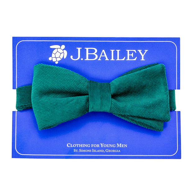 Johnny Bow Tie-Clover Green Cordaroy