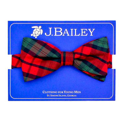 Johnny Bow Tie-December Plaid