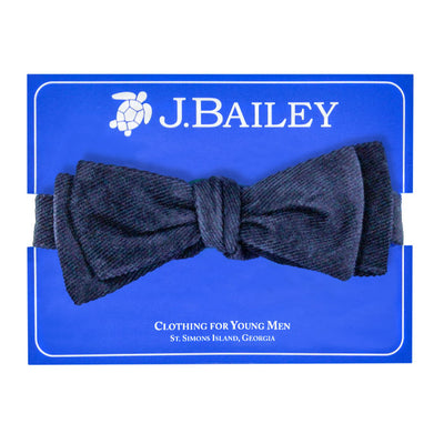 Johnny Bow Tie-Navy Cordaroy