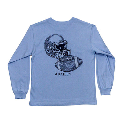 J. Bailey Logo Tee-Football on Sky
