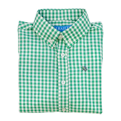 Roscoe Button Down Shirt-Ming Windowpane