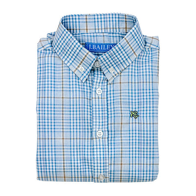 Roscoe Button Down Shirt-Epworth Plaid