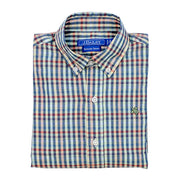 Roscoe Button Down Shirt-Kaleidoscope Plaid