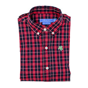 Roscoe Button Down Shirt-Scotty Plaid