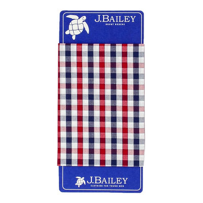 Brent Boxer-Red & Navy Check