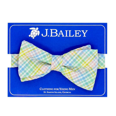 Johnny Bow Tie-Preppy Plaid