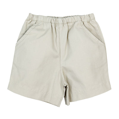 Bailey Boys Twill Short in Khaki