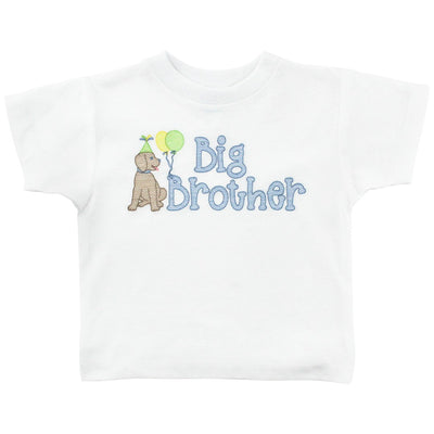 White Knit- Big Brother T-shirt