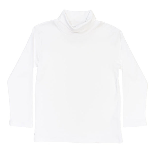 Basic Boys and Girls White Turtleneck