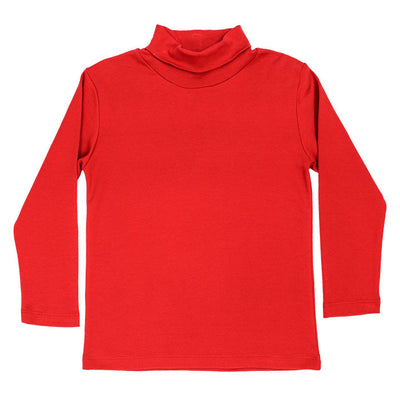 Red Knit-Unisex Turtle Neck
