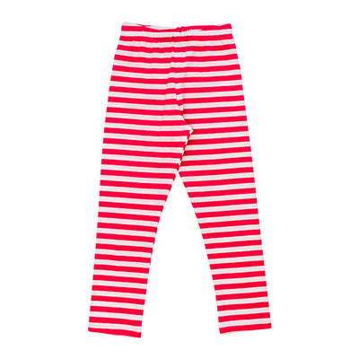 Fuchsia Stripe-Legging