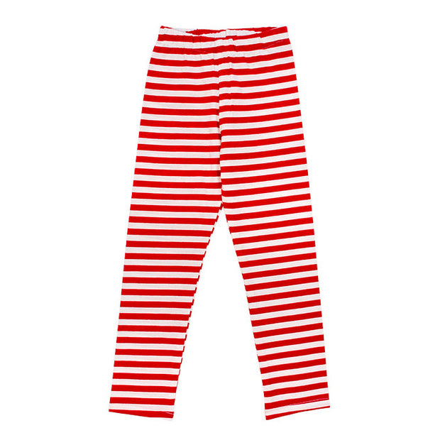 Red Stripe-Legging