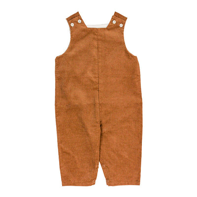 Chocolate Brown Corduroy-John John Long