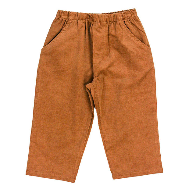 Chocolate Brown Corduroy-Boys Pant
