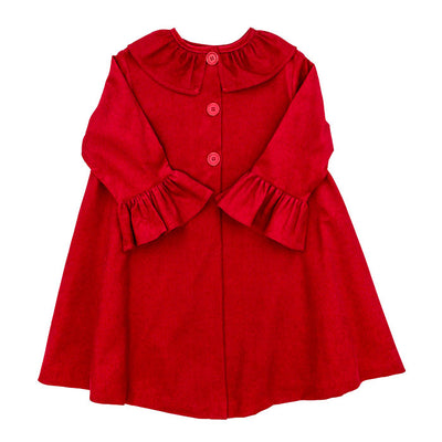 Red Corduroy-Girls Coat