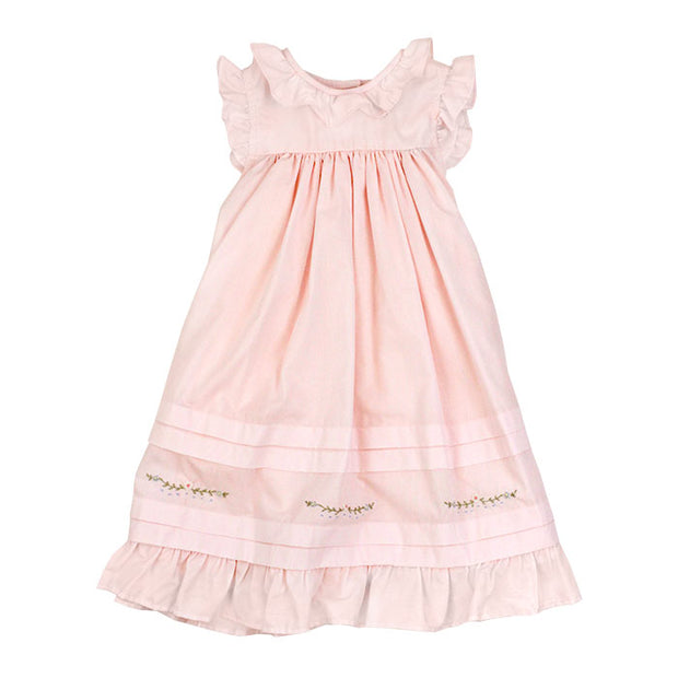 Pin Tuck Dress in Pink