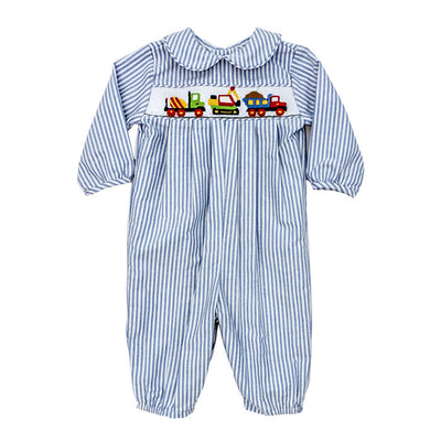Smocked Construction-Dressy Bubble Long