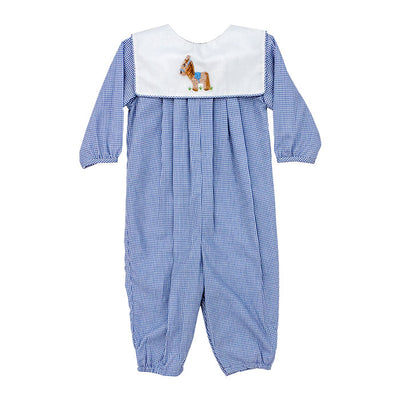 Smocked Pony-Dressy Bubble Long