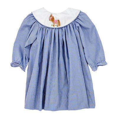 Smocked Pony-Float Dress