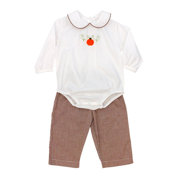 Pumpkin-Boys Pant Set