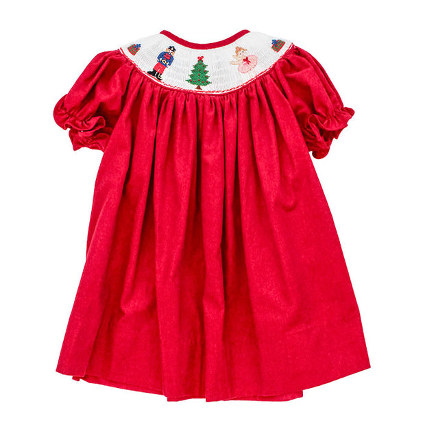 Smocked Nutcrackers-Bishop Dress