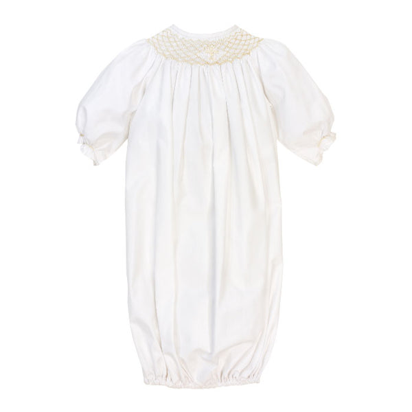 The Smocked Christening Collection Girls Sac
