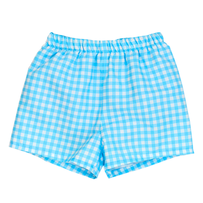 Blue Gingham- Trunk