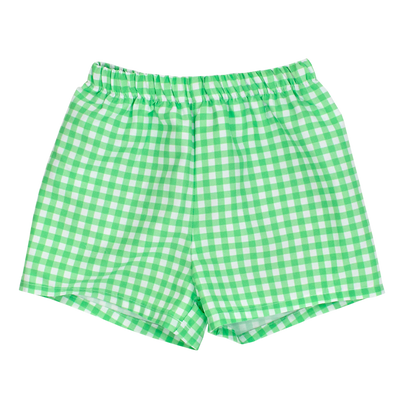 Mint Gingham- Trunk