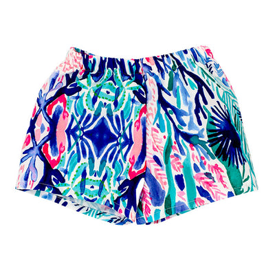 Bailey Boys Swim Trunk-Reef Print