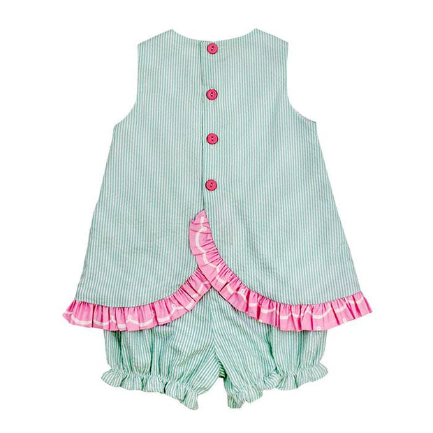 Under the Sea-Criss Cross with Bloomer Set