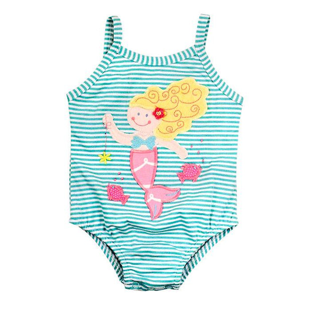 Under the Sea-Girls One Piece Swimsuit