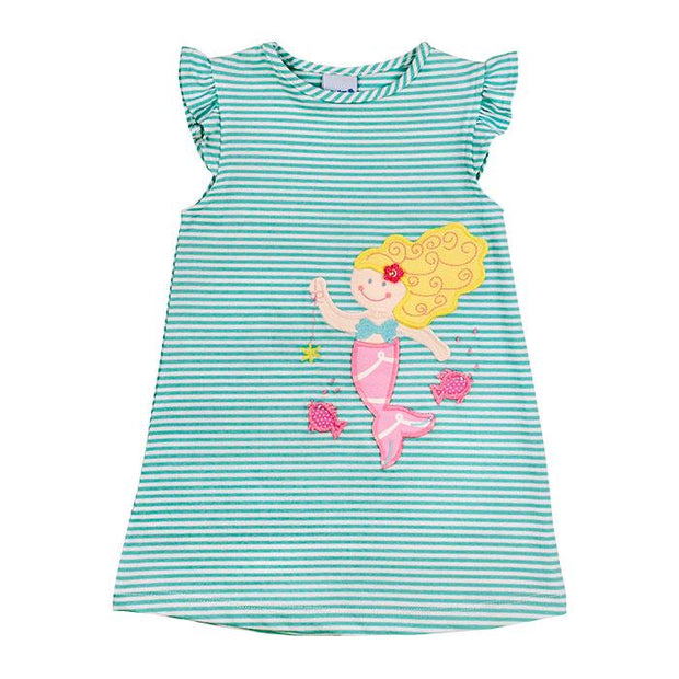 Under the Sea-Knit Dress