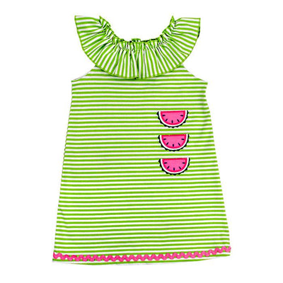 Watermelon-Knit Dress