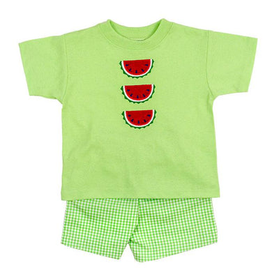Watermelon-Boys Short Set