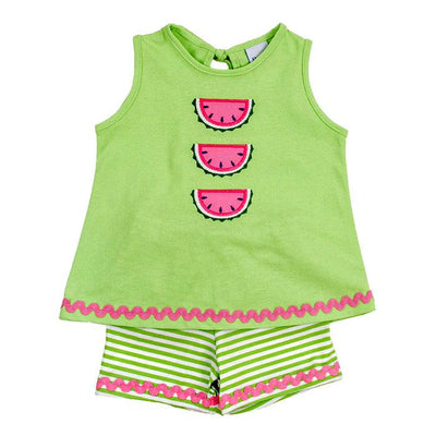 Watermelon-Girls Short Set
