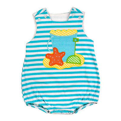 Beach Fun-Knit Infant Bubble